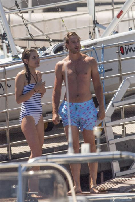 charlotte casiraghi  swimsuit monaco yacht club