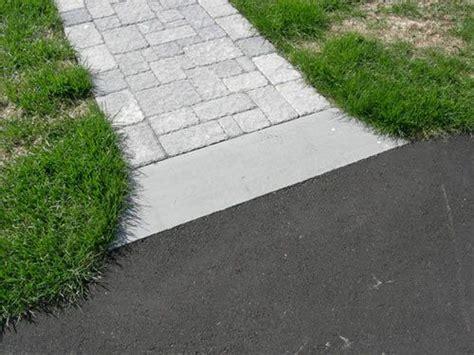 image result  paver  asphalt transition walkway