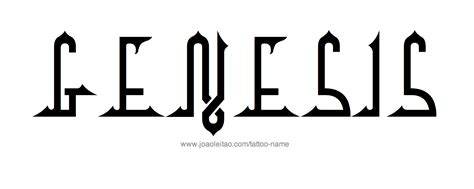 genesis  tattoo designs