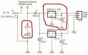 Arduino Buck Module Mit Einem Ams1117 Selbst