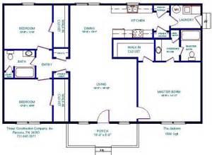 1500 Sq Ft Floor Plans Open Floor Plans 1500 Floorplan House Plans Manufactured Homes Floor