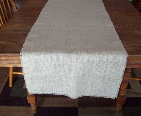 ways    burlap table runner guide patterns