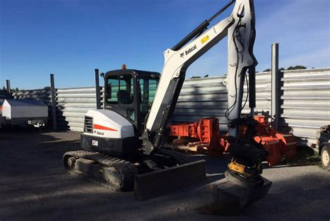 bobcat  excavator andover forktruck services