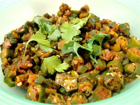 jhatpat bhindi okra based indian vegetable dish