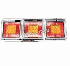 75led Hino Trailer Truck Lorry Freight Car Rear Led Tail