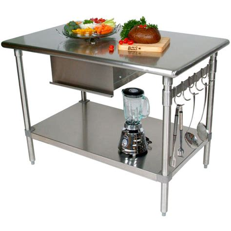 stainless steel kitchen work table island boos stainless steel work tables work tables