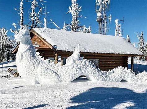 A Wild 72 Hours in Southwest Idaho Snow art Snow
