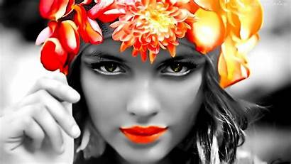 Faces Selective Coloring Wallpapers Splash Colorful Definition