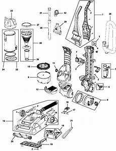Hoover Uh71003 Elite Rewind Vacuum Cleaner Parts