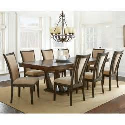 9 dining room set steve silver gabrielle 9 dining room set in medium