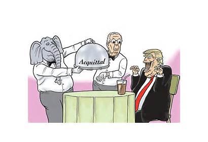 Acquittal Served Cartoon Crooks Liars