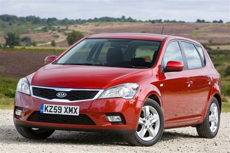 kia ceed 2007 kia ceed hatchback from 2007 used prices parkers