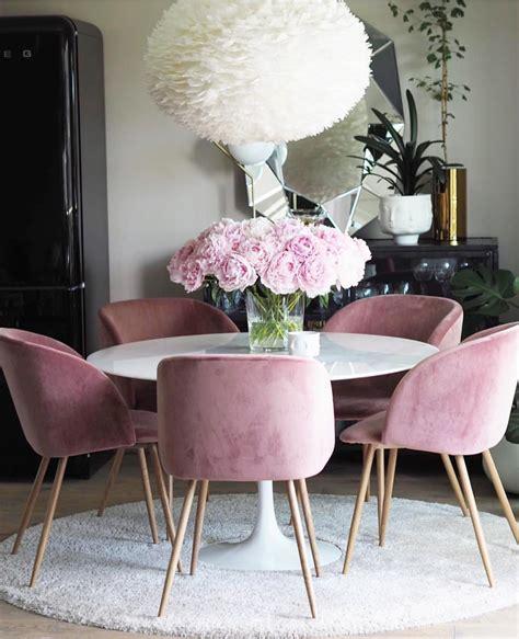 modern velvet dining chairs   dining room