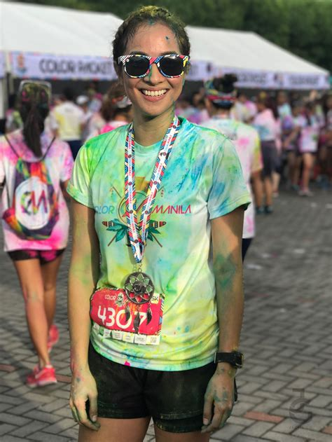 how much is the color run my run color run manila 2017