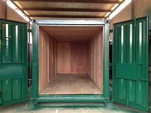 20ft, X, 8ft, Green, Used, Storage, Container, Ply, Lined, U2014, Globalshippingcontainers, Co, Uk