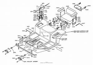 Dixon Ztr 428  1988  Parts Diagram For Body Assembly