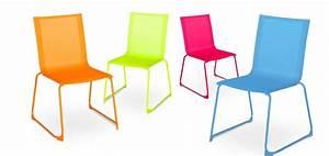 Chaise Jardin Plastique : chaise de jardin couleur ~ Teatrodelosmanantiales.com Idées de Décoration