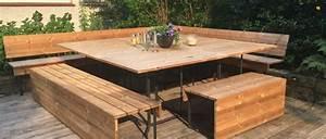 Sitzecke Aus Holz : terrassenm bel holz ~ Indierocktalk.com Haus und Dekorationen
