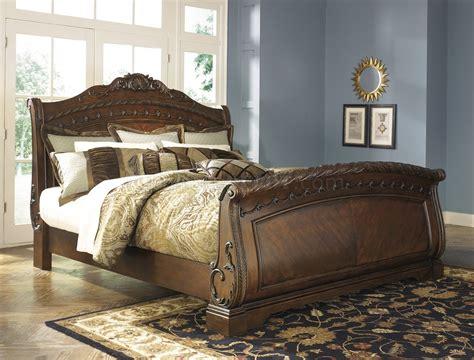 north shore bedroom   dark brown  ashley furniture