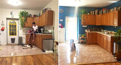rental kitchen makeover 10 easy ways to give your rental kitchen a makeover 6sqft 1856