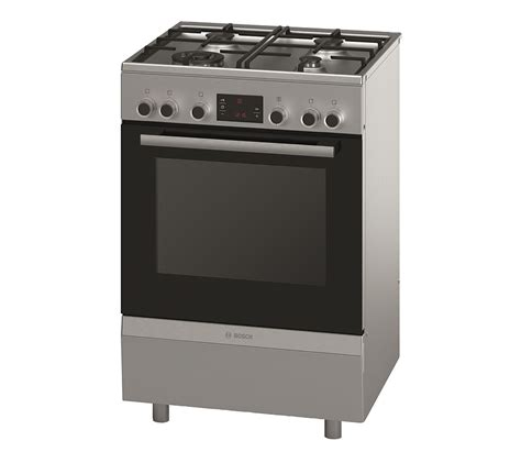 Bosch Freestanding Oven with Gas Cooktop Freestanding