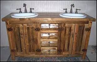 rustic bathroom vanities and cabinets optimizing home
