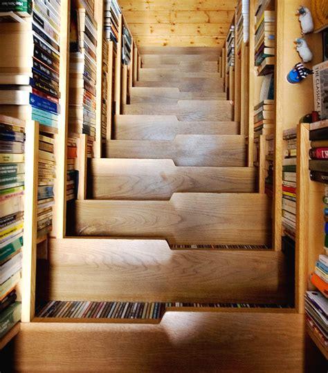 bookcase staircase levitate