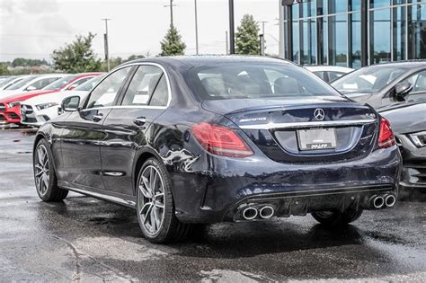 12.3 widescreen instrument cluster, active parking assist, amg night package, amg night package (p60), amg performance exhaust system, amg performance steering wheel in nappa/dinamica, parking assistance package. New 2020 Mercedes-Benz C43 AMG 4MATIC Sedan 4-Door Sedan ...