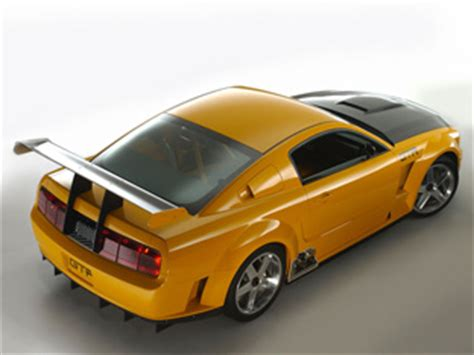 ford mustang gt  concept sports cars