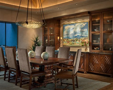 passionate southwestern dining room designs full