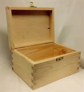 Pine Wood Storage Box Large Extra