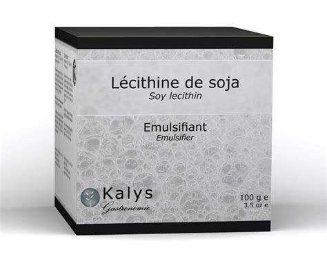 la lecithine de soja 233 mulsifiant saveurs shop concept