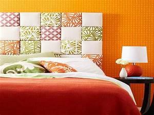 Idées Déco Tête De Lit : decoration tete de lit en tissu visuel 7 ~ Zukunftsfamilie.com Idées de Décoration