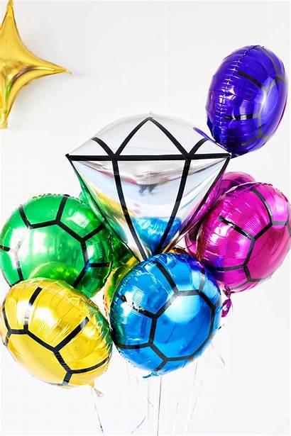 Balloons Gem Party Bridal Diy Gems Shower