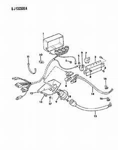 1988 Jeep Grand Wagoneer Wiring