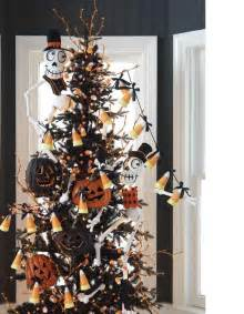 raz 2011 black and bling halloween trees trendy tree