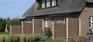 sichtschutz natur habisreutinger With französischer balkon mit sicht und schallschutz im garten