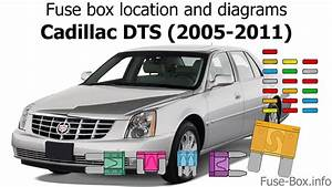 Fuse Box Location And Diagrams  Cadillac Dts  2005