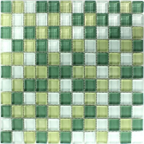 mosaic tiles crystal glass mosaic tile yellow green 25x25x8mm www mosafil co uk