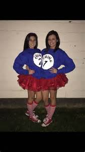 Thing 1 and 2 Costumes Teen