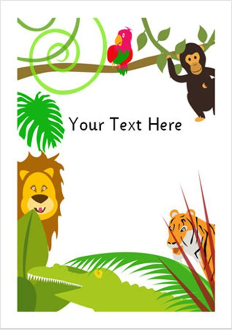 safari theme cliparts   clip art