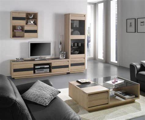 mobilier de bureau a vendre meuble contemporain en chêne massif pour salle de séjour