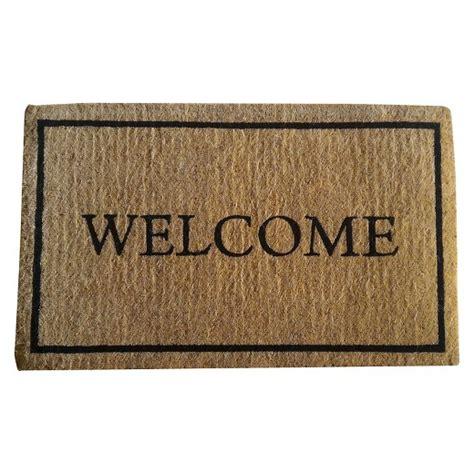 target welcome mat coir welcome doormat smith hawken target