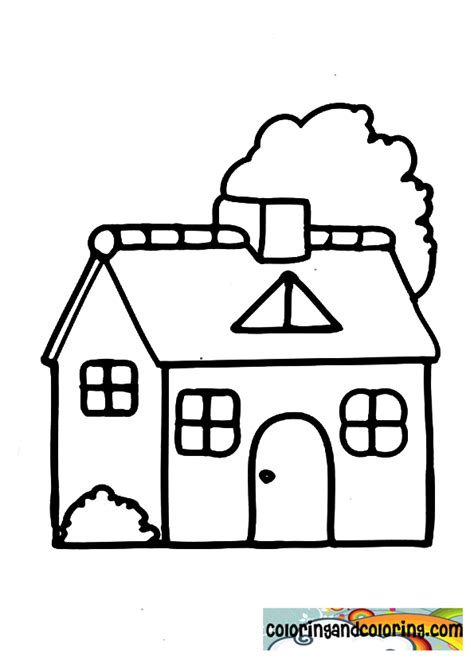 house coloring pages  sun flower pages