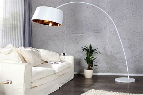 Design Bogenlampe SAPPHIRE weiss gold   DuNord Design Hamburg