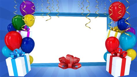 Happy Birthday Picture 2 by Happy Birthday Frame 2 By Lordjony Videohive