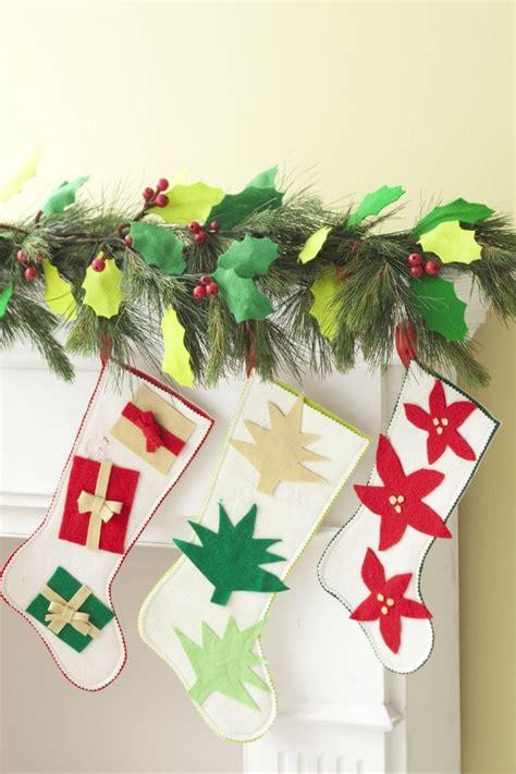 elegant christmas stockings crafts family holidaynet