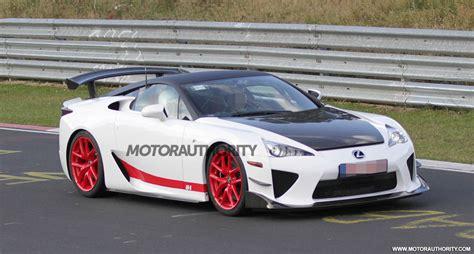 wild lexus lfa prototype spied   nuerburgring