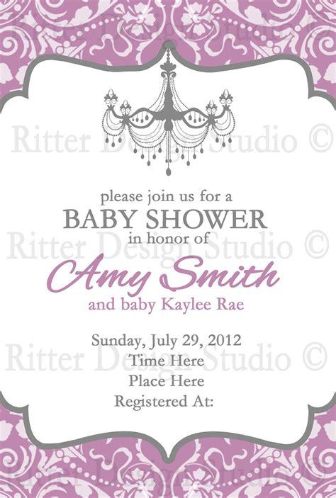 baby shower invitation wording baby shower invitation by ritterdesignstudio on etsy
