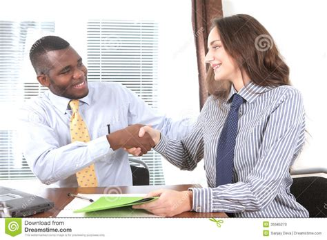You're Hired! Stock Photo Image Of Hire, Male, Candidate 35585270